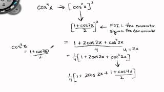 Precalculus Lesson 5 5 Power Reducing Formulas part 2