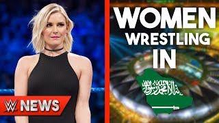 Renee Young Leaving WWE?! Women Wrestling In Saudi Arabia?! - WWE News Ep. 228