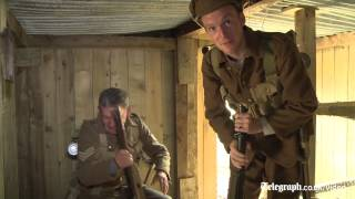 Meet the man with a WW1 trench in his back garden