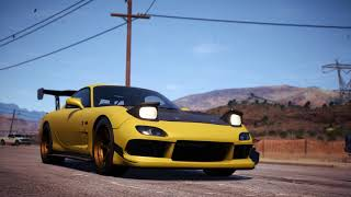 Need For Speed Payback - LV399 Mazda RX-7 Race spec unfortunately is not a Regera/RSR killer