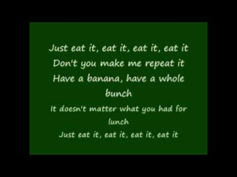 ''Eat it'' by Weird Al [lyrics]