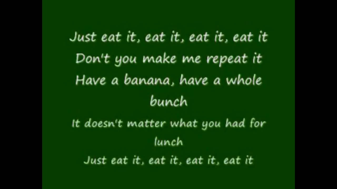 Eaten lyrics