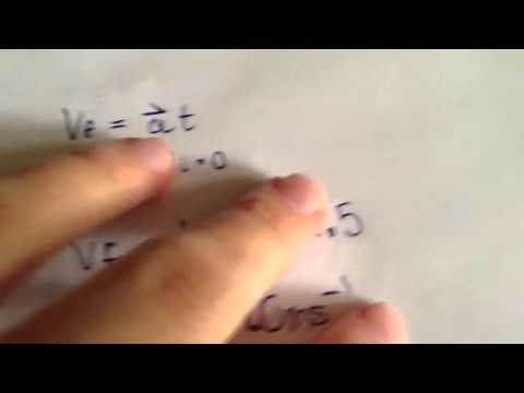 Calculating Final Velocity
