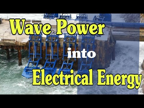 Wave Power into Electrical Energy | Turning the Constant Power of Waves into Electricity