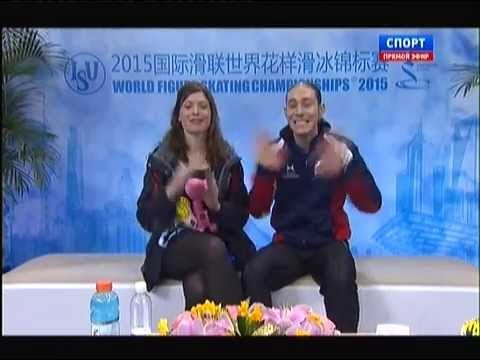 World Figure Skating Championships 2015. SP. Jason BROWN