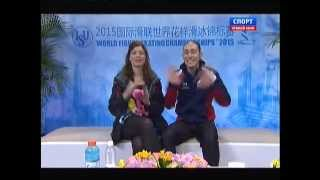 World Figure Skating Championships 2015. SP. Jason BROWN