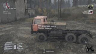 Mudrunner:A spintires game Off-roading and mudding gameplay