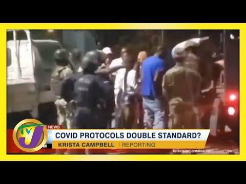 Covid Protocols Double Standard?   TVJ News   Jamaica News