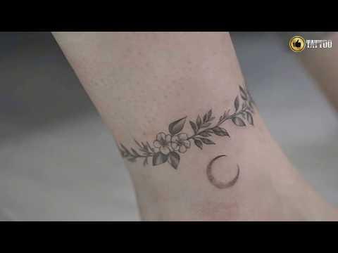 Best Cute Ankle Tattoo Design Idea