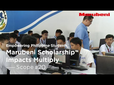 A visit to Marubeni Scholarships in the Philippines