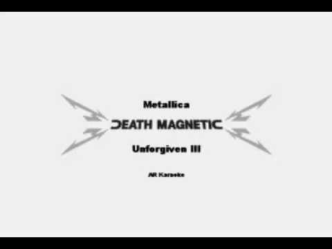 Metallica - Unforgiven III Karaoke