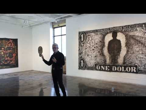 Sergio Gomez Artist Talk at the Zhou B Art Center [solo exhibition]