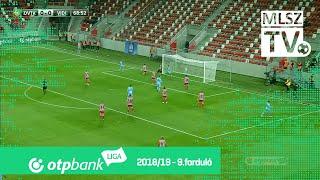 Huszti Szabolcs gólja a DVTK  - Mol Vidi FC mérkőzésen