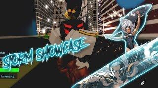 Super Hero Adventures online | TEMPESTADE SHOWCASE!! | Roblox