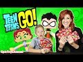 TEEN TITANS GO Beast Boy Cyborg Mix Up?!?! Cartoon Network Surprise Toys with Teen Titans Go Robin