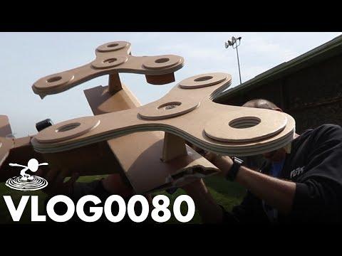 GIANT FLYING SPINNERS? | VLOG0080