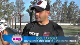 Joel Barboza y Lucas Alvarez - Tecnicos inferiores Independencia