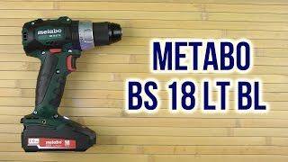 Unpacking Metabo 18 LT BL BS