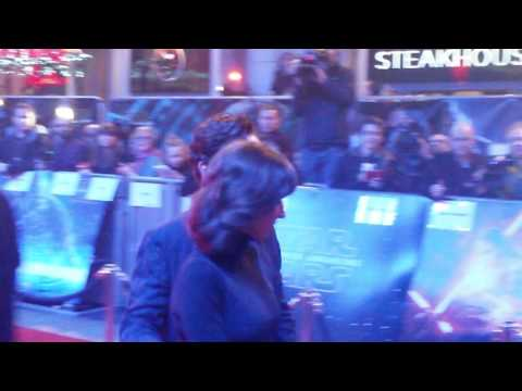 Benedict cumerbatch force awakens London premier