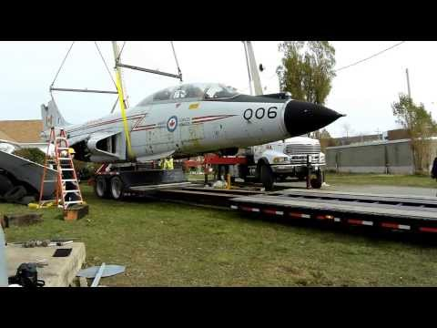 CF-101 Voodoo #006 ready to be placed on trailer