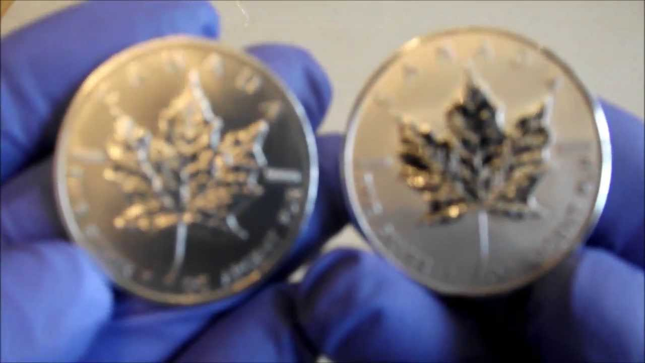 Fake Silver Canadian Maple Leaf 2011 Youtube