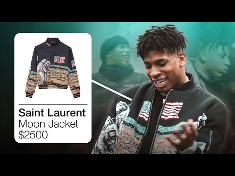 NLE CHOPPA OUTFITS IN 100 SHOTS / FAMOUS HOES / WALK EM DOWN [NLE CHOPPA CLOTHES]