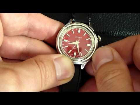 Small Version Citizen Alarm Wristalarm Armbandwecker Cal. 981/2