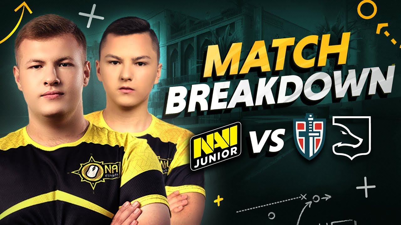 Разбор Матчей NAVI Junior против Espada и LDLC OL