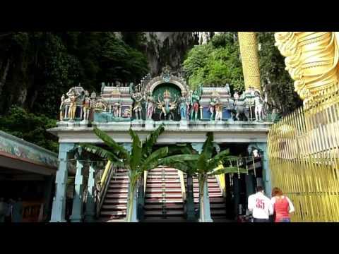 A trip to Batu Caves Murugan Temple Malaysia (HD)