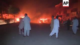 Bomb blast kills at least 15 in Quetta