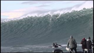 Jamie Mitchell at Belharra, France - Billabong XXL Big Wave Awards