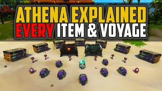 Sea of Thieves: Athena Explained [EVERY Item & Voyage]