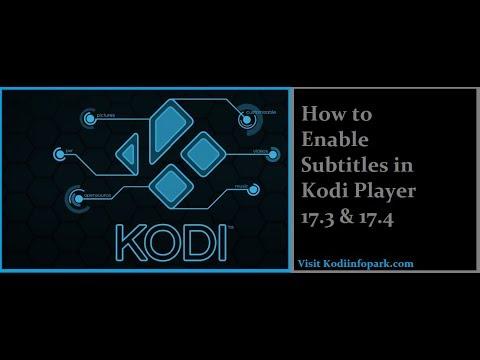Download Best Subtitles for Kodi Player 17 6[Latest]