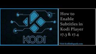 How to Download Subtitles Kodi