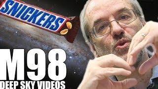 Peanuts and Bar Galaxies (M98) - Deep Sky Videos