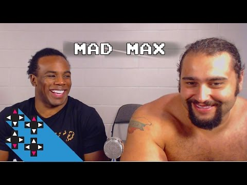 Mad Max with Rusev — Superstar Savepoint(UpUpDownDown)