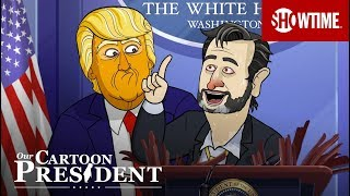 'Cartoon Trump Responds to Coronavirus Pandemic' Ep. 308 Cold Open | Our Cartoon President