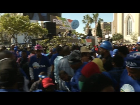Anti-Zuma March in Cape Town