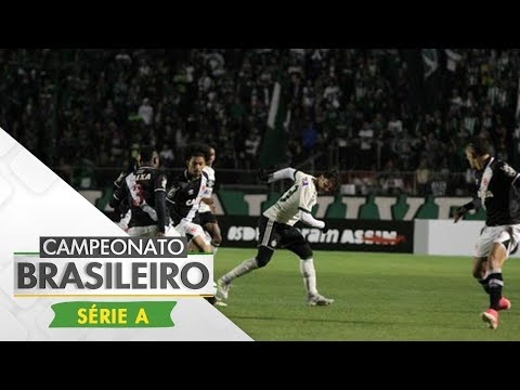 Melhores Momentos - Lances de Coritiba 2 x 2 Vasco - Campeonato Brasileiro (02/07/2017)