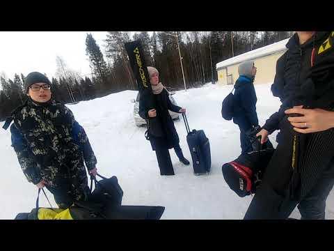 Мы приехали в Киров на лыжную базу ПЕРЕКОП.