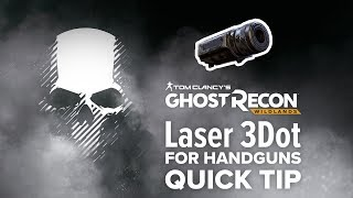 Laser 3Dot (handgun) location and info - Ghost Recon Wildlands (quick tip)