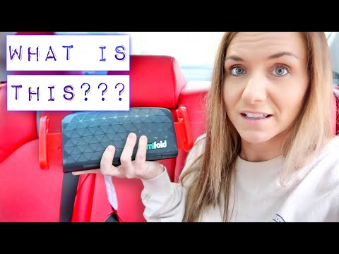 MIFOLD BOOSTER SEAT & HEADACHE | Family 5 Vlogs