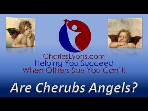 Are Cherubs Angels?
