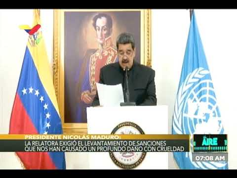 Presidente Nicolás Maduro ante el Consejo de Derechos Humanos de la ONU, 22 febrero 2021
