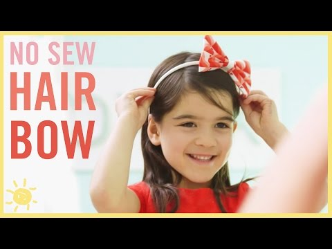 No Sew Hair Bow (So Cheap & Easy!)
