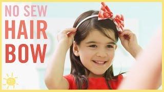 DIY I No Sew Hair Bow (Cheap & Easy!)