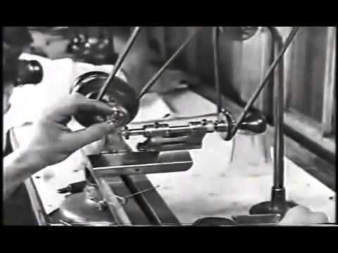Illinois Watch Company 1922 Pocket Watch Manufacturing Film