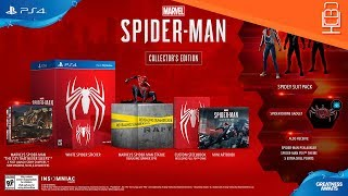 Spider-Man PS4 Collectors Edition & Post Release Content Revealed