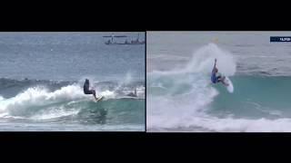 Видео урок с Евгением Нестеровым (Набор скорости, Поворот к пене, Завершение волны)