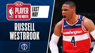 Russell Westbrook Is Named #KiaPOTM For May! | Eastern Conference
